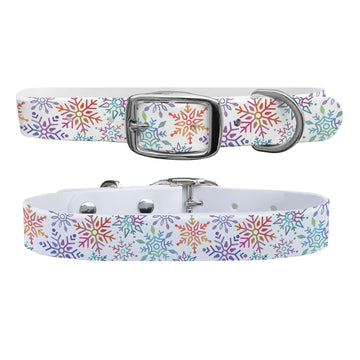 Winter Wonderland Dog Collar Dog Collar C4 BELTS