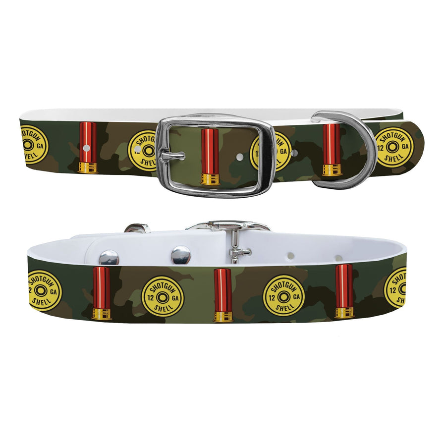 12 Gauge Camo Dog Collar Dog Collar C4 BELTS