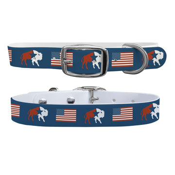 American Buffalo Dog Collar Dog Collar C4 BELTS