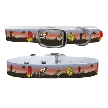 Pointer Sunset Dog Collar Dog Collar C4 BELTS