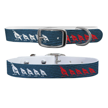 Quail Canvas USA Dog Collar Dog Collar C4 BELTS
