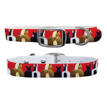 Leslie Anne Webb - Big Butts Dog Collar Dog Collar C4 BELTS