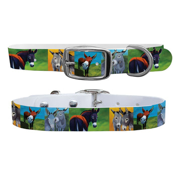 Leslie Anne Webb - Donkey Adoration Dog Collar Dog Collar C4 BELTS