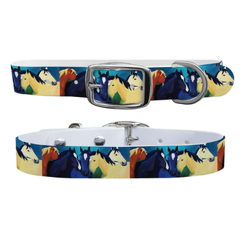 Leslie Anne Webb - The Guardian Angel Dog Collar Dog Collar C4 BELTS