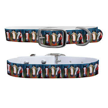 Leslie Anne Webb - The Trio Dog Collar Dog Collar C4 BELTS