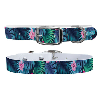 Mermaid Life - Tropics Dog Collar Dog Collar C4 BELTS
