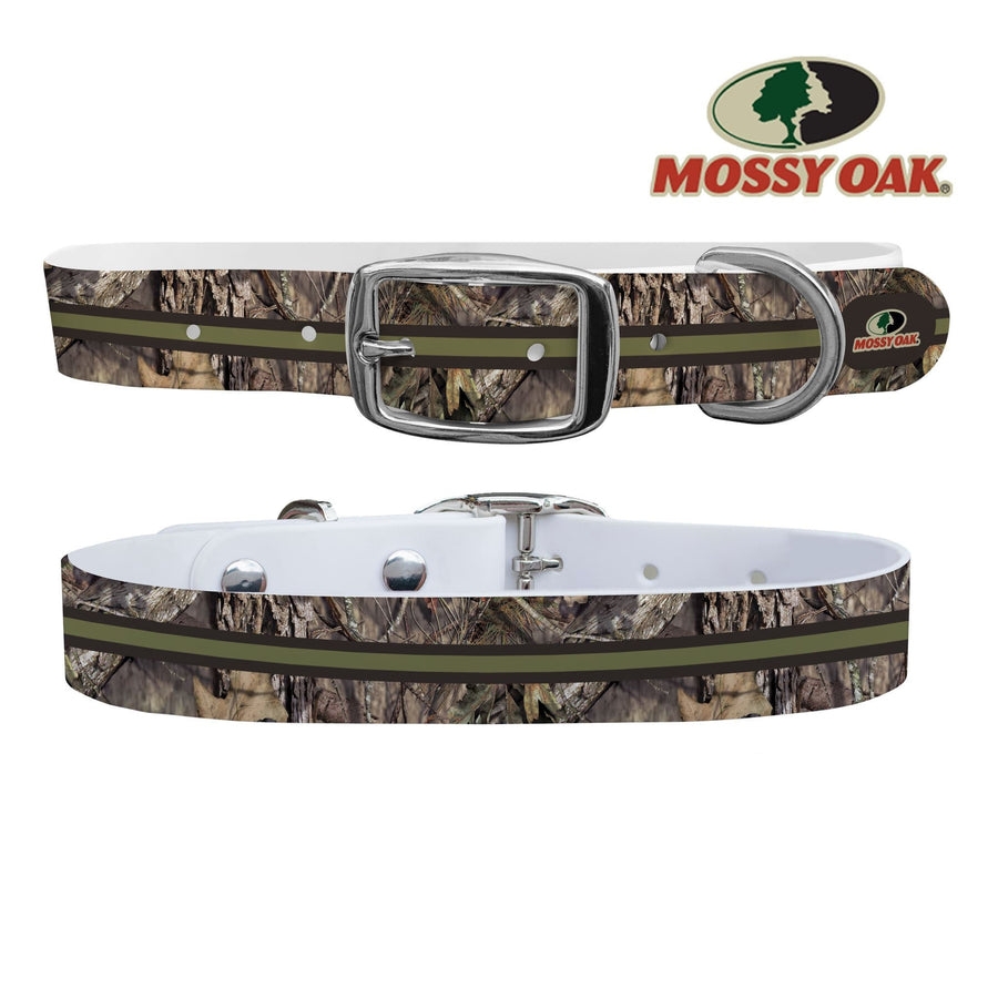 Mossy Oak - Break Up Country Duo Tone Stripe Collar Dog Collar C4 BELTS