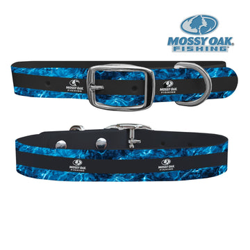 Mossy Oak - Agua Fishing Black Dog Collar Dog Collar C4 BELTS