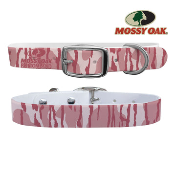 Mossy Oak - Bottomland Pink Collar Dog Collar C4 BELTS
