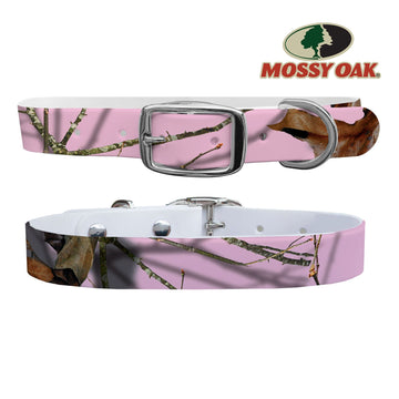 Mossy Oak - Country Roots Pink Dog Collar Dog Collar C4 BELTS