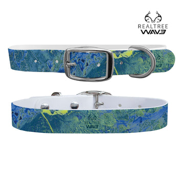 Realtree - Wave Contrast Collar Dog Collar C4 BELTS