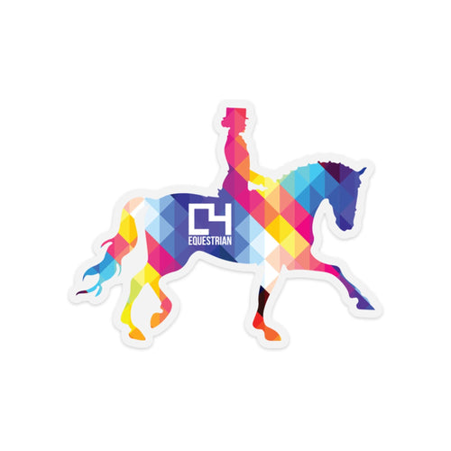C4 Dressage Decal