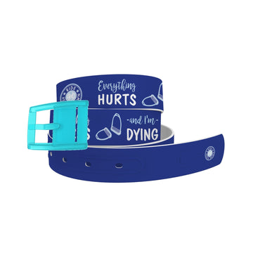 Ride Heels Down - Everything Hurts & I'm Dying Belt Belt-Classic C4 BELTS