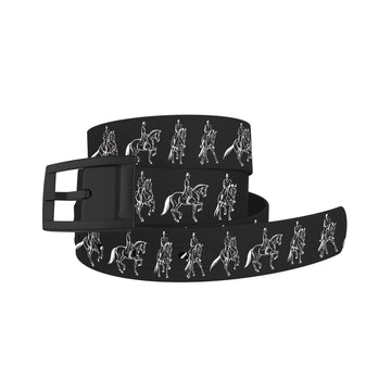 Dressage Outline Black Belt Belt-Classic C4 BELTS