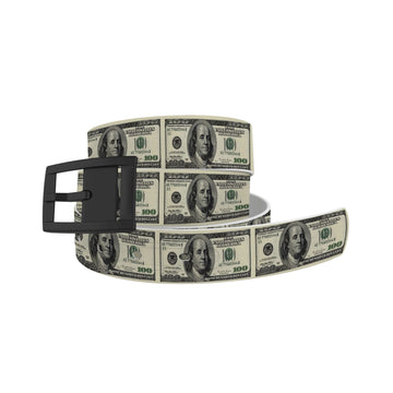 $100 Dollar Bill Belt Belt-Classic C4 BELTS