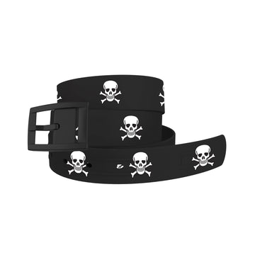 Skull and Crossbones Belt Belt-Classic C4 BELTS