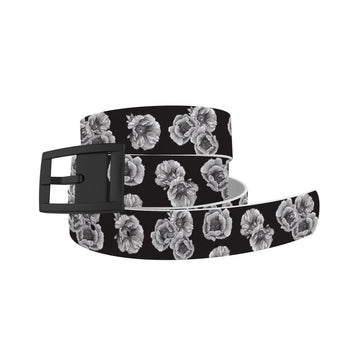 Decidedly Equestrian - Peony Black Belt Belt-Classic C4 BELTS