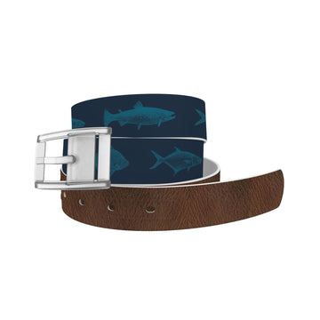 Fishing Navy Belt Belt-Classic C4 BELTS