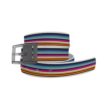 Cool Retro Stripes Belt Belt-Classic C4 BELTS