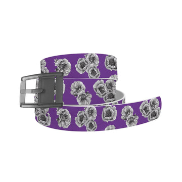 Decidedly Equestrian - Peony Purple Belt Belt-Classic C4 BELTS