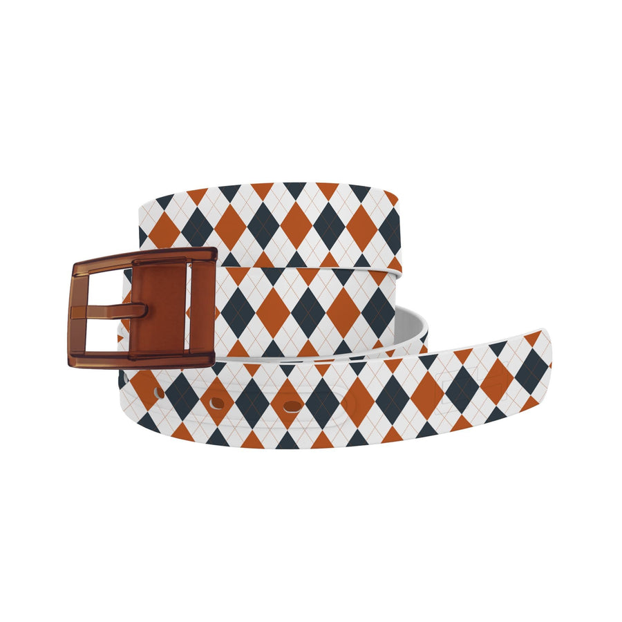 University of Texas Argyle Team Spirit Belt Belt-Classic C4 BELTS