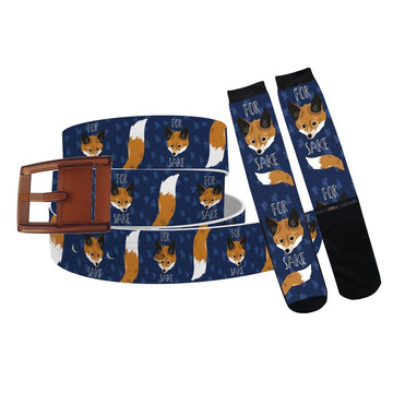For Fox Sake Belt & Sock Combo Product-Bundle C4 BELTS
