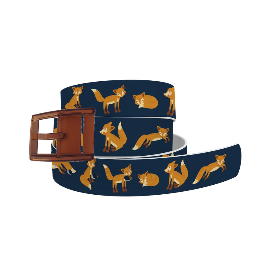ETA Playing Foxes Navy Belt Belt-Classic C4 BELTS