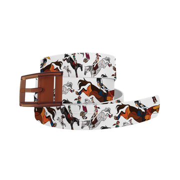 Horse on the L O O S E - Eventing Belt Belt-Classic C4 BELTS
