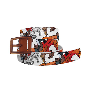 Horse on the L O O S E - Hunter Jumper Belt Belt-Classic C4 BELTS