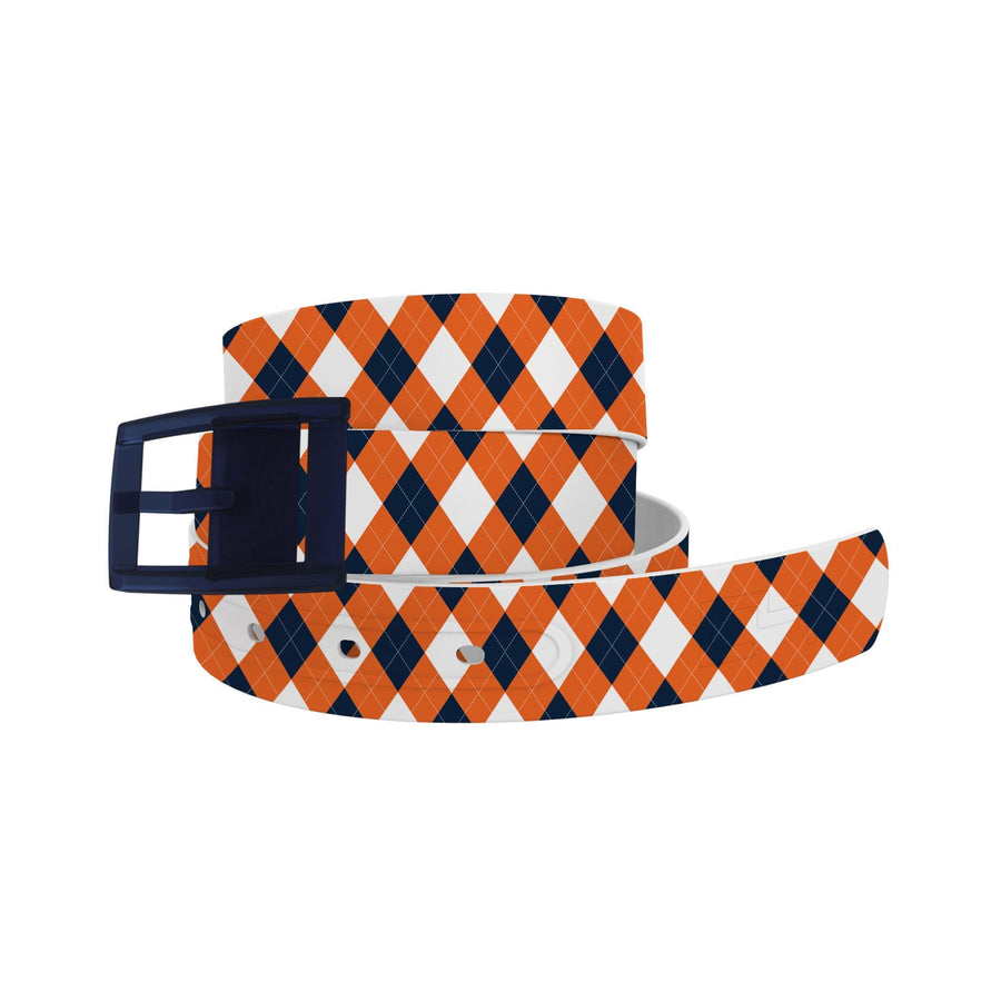 Auburn University Argyle Team Spirit Belt Belt-Classic C4 BELTS