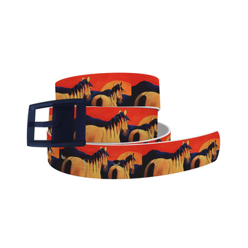 Leslie Anne Webb - Blue Moon Girls Belt Belt-Classic C4 BELTS