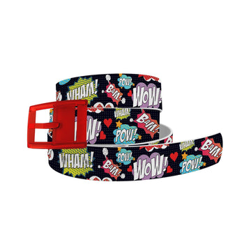 Comic Words Belt Belt-Classic C4 BELTS