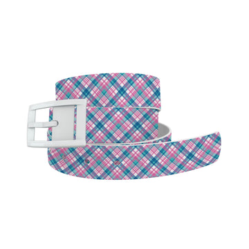 Pink Plaid Belt Belt-Classic C4 BELTS