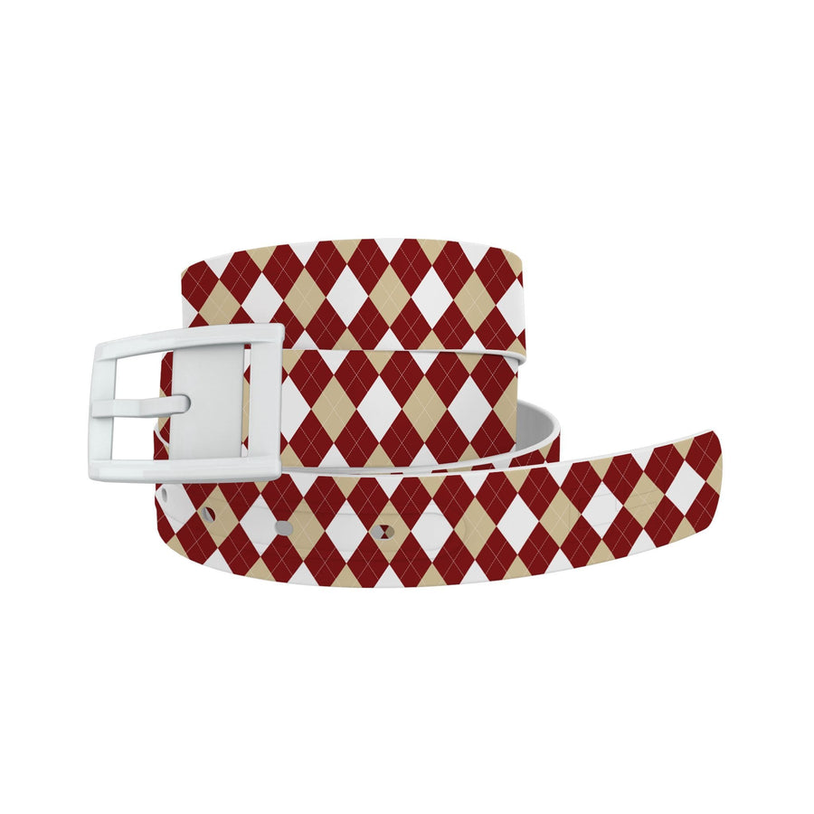 University of Oklahoma Argyle Team Spirit Belt Belt-Classic C4 BELTS