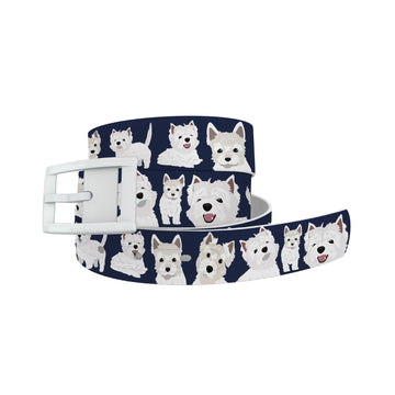 West Highland Terrier Belt Belt-Classic C4 BELTS