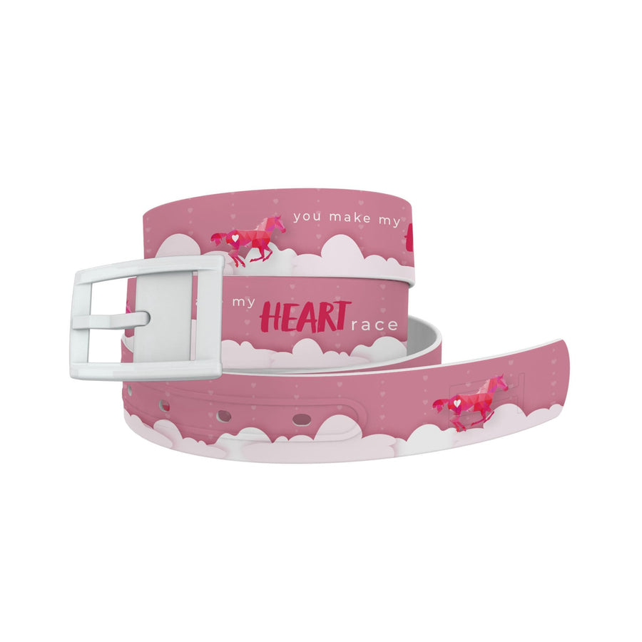 You Make My Heart Race Belt Belt-Classic C4 BELTS