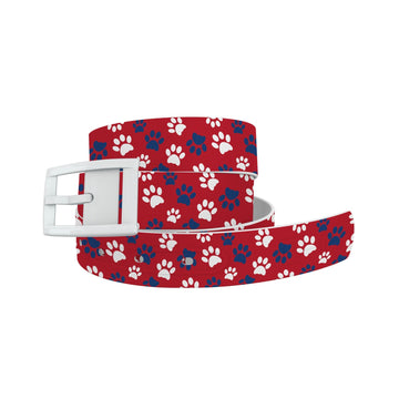Pawtriot Red Belt Belt-Classic C4 BELTS