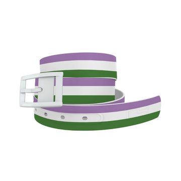 Gender Queer Flag Belt Belt-Classic C4 BELTS