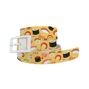 Roll With It Yellow Belt Belt-Classic C4 BELTS