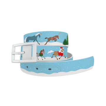 Holiday Horses Belt Belt-Classic C4 BELTS