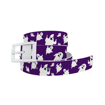 Purple Ghosts Belt Belt-Classic C4 BELTS