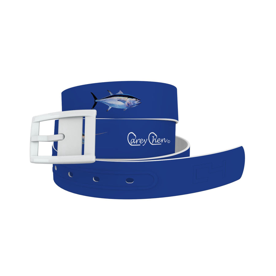 Carey Chen - Bio Series Game Fish Grand Slam Navy Belt Belt-Classic C4 BELTS