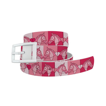 Horse on the L O O S E - My Valentine Belt Belt-Classic C4 BELTS