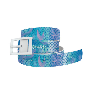 Mermaid Life - Hypnotic Scales Blue Belt Belt-Classic C4 BELTS