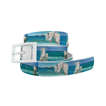 Leslie Anne Webb - Sam at the Beach Belt Belt-Classic C4 BELTS