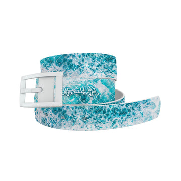 Mermaid Life - Ocean Waves Belt Belt-Classic C4 BELTS