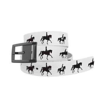 Dressage Fill White Belt Belt-Classic C4 BELTS