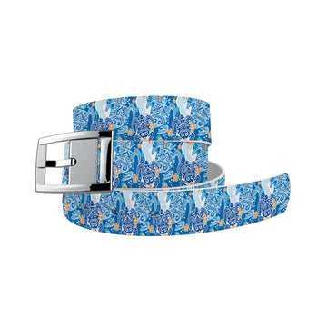 Sea Turtles Blue Belt Belt-Classic C4 BELTS