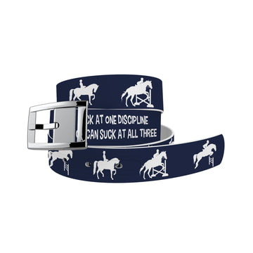 EQ Words of Wisdom - Suck At It All Belt Belt-Classic C4 BELTS