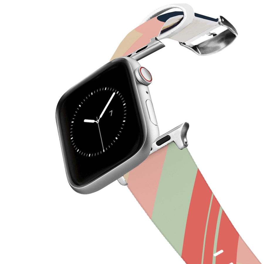 Color Blocked Warm Apple Watch Band Apple Watch Band C4 BELTS